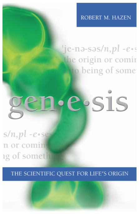 Genesis: The Scientific Quest for Life's Origins cover